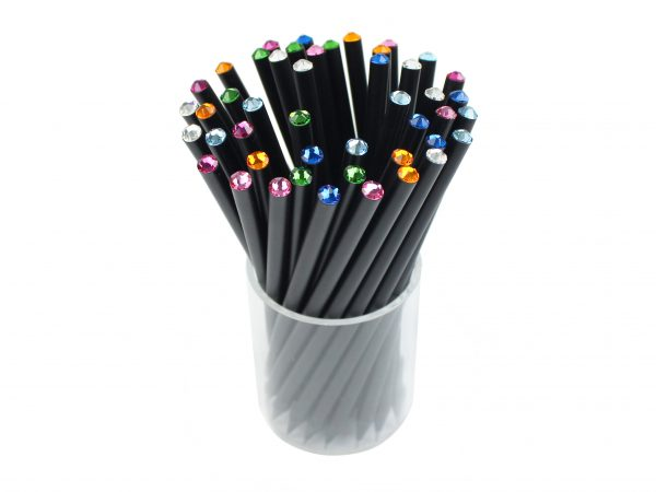 1 Color Pencil with Rhinestone